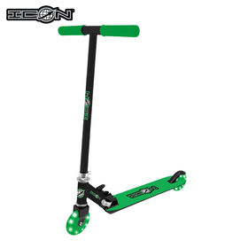 Icon Supreme 100Mm Light Up Wheel Scooter - Green