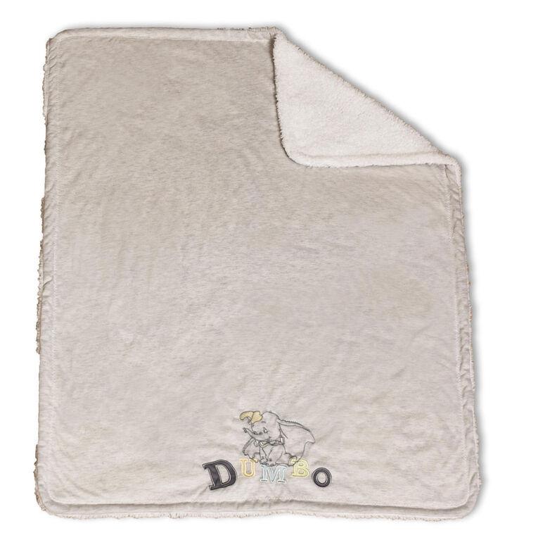 Disney Baby Couverture de tricot jersey pour bébé- Dumbo