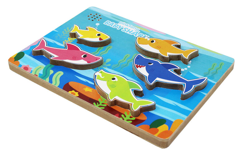 Baby Shark Chunky Wood Sound Puzzle