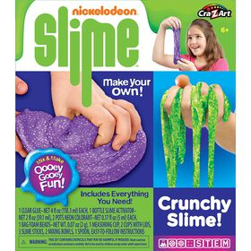 Cra-Z-Art - Nickelodeon: Crunchy Slime! Fun Set