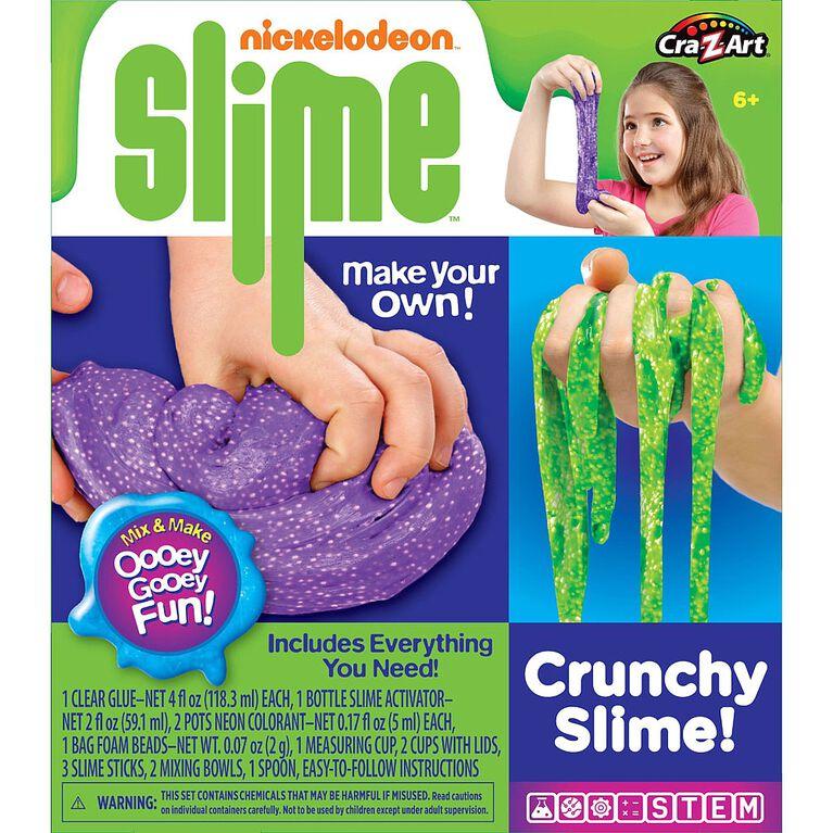 Ensemble de glu Crunchy Slime de Nickelodeon!.