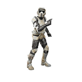 Star Wars The Black Series Carbonized Collection Scout Trooper - R Exclusive