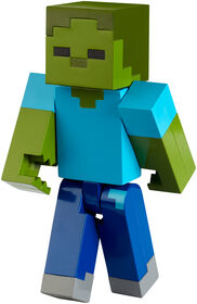 """Minecraft Zombie Large Scale Action 8.5"""" Figure"""