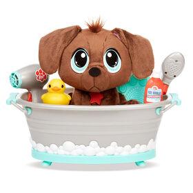 Jouet de baignoire Rescue Tales Scrub 'n Groom avec peluche labrador chocolat