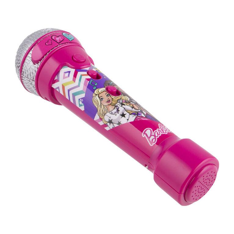 Microphone MP3 de Barbie