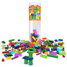 Mega Construx Mega Construx Wonder Builders 220 Piece Building Tube