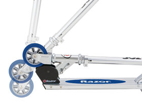 Razor - 98mm A Kick Scooter - Blue