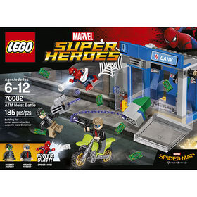 LEGO Marvel Spider-Man ATM Heist Battle 76082