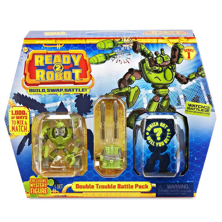 Ready2Robot- Battle Pack Double Trouble