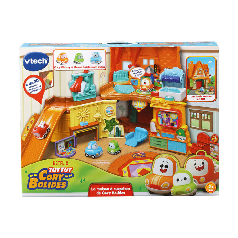 VTech Tut Tut Cory Bolides Cory's Stay & Play Home- French Version
