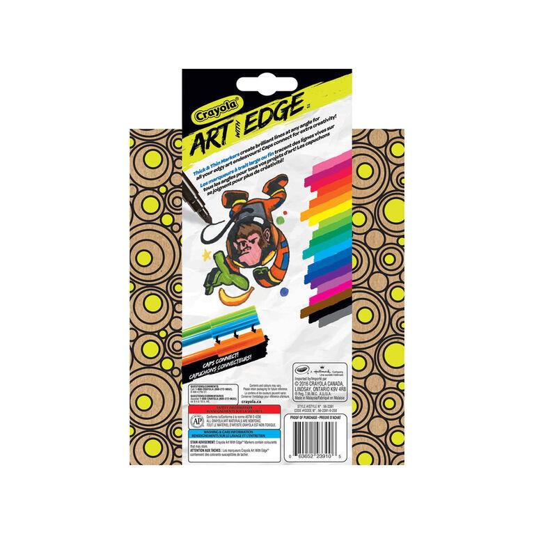 Crayola - Crayola Art with Edge Colour FX Coloured Pencils