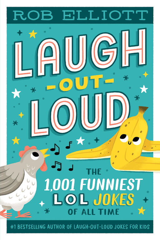 Laugh-Out-Loud: The 1,001 Funniest LOL Jokes of All Time - Édition anglaise
