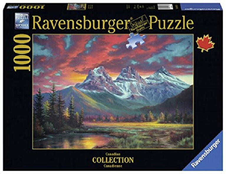 Ravensburger! Alberta's Three Sister Mountains casse tête (1000pc)