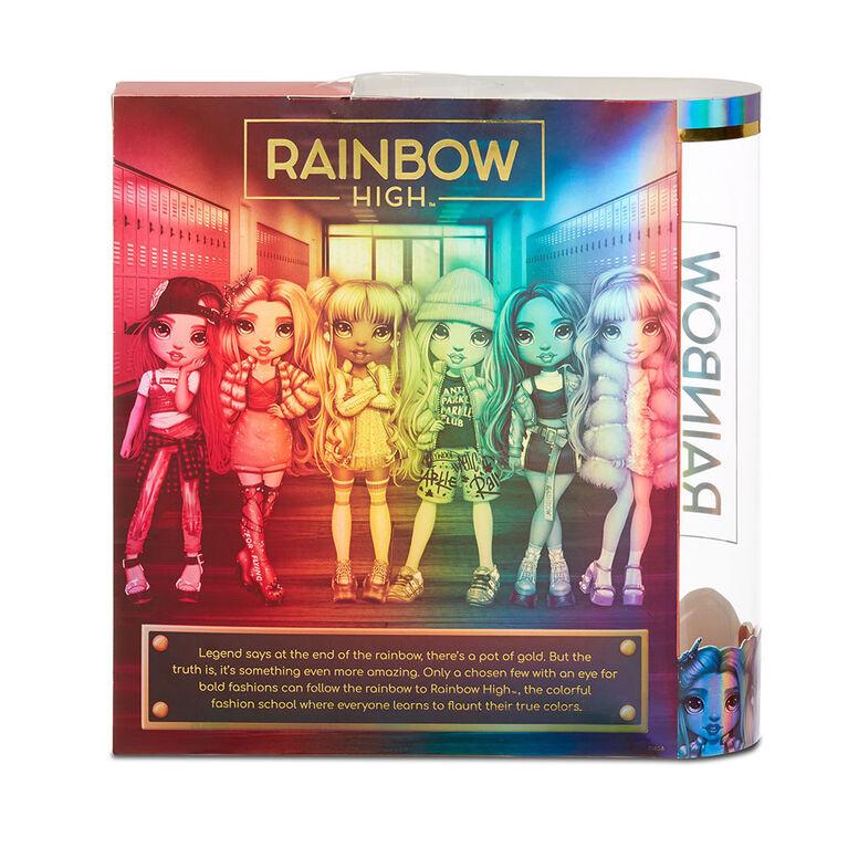Rainbow High Skyler Bradshaw - Blue Fashion Doll with 2 Outfits