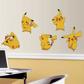 Pokemon Pikachu Peel & Stick Wall Decals
