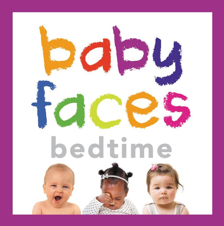 Baby Faces Bedtime - English Edition