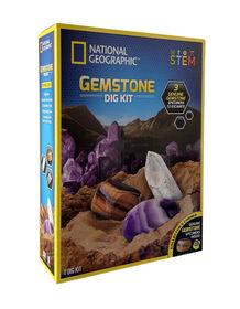 National Geographic Gemstone Dig Kit