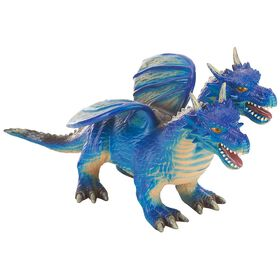 Animal Planet - Dragon à deux têtes en mousse de 43 cm