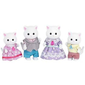 Calico Critters-Famille de chat persan.