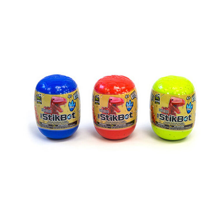 Stikbot Dino Eggs - Colours and styles may vary