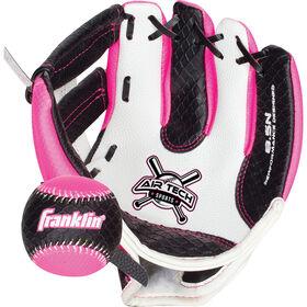 """85"""" Sport Air Tech Glove & Ball Set - Pink"""
