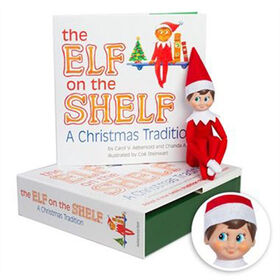 The Elf on the Shelf : A Christmas Tradition - Boy Light
