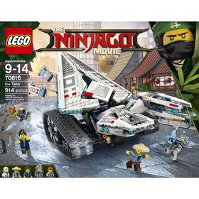 LEGO Ninjago Movie Le tank des glaces 70616.