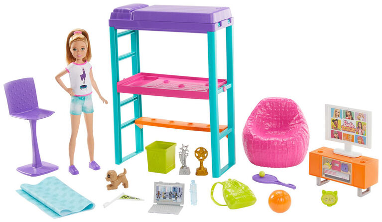 Barbie Team Stacie Bedroom Playset - R Exclusive