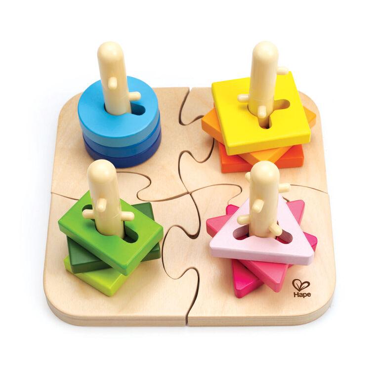 Puzzle à Boutons Créatifs - Édition anglaise