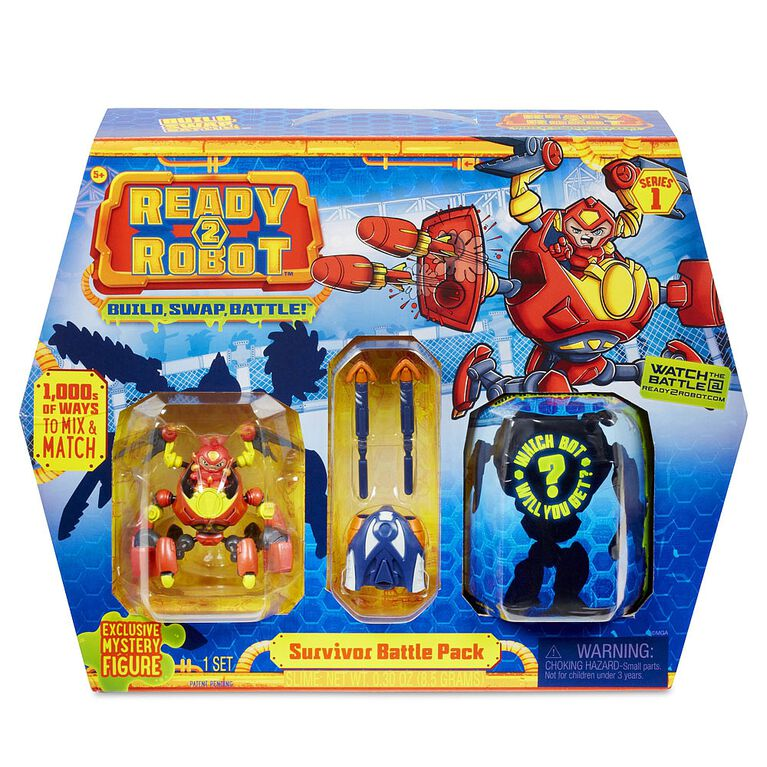 Ready2Robot- Battle Pack Survivor