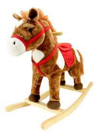 Animal Adventure - Chestnut Horse Rocker - Brown
