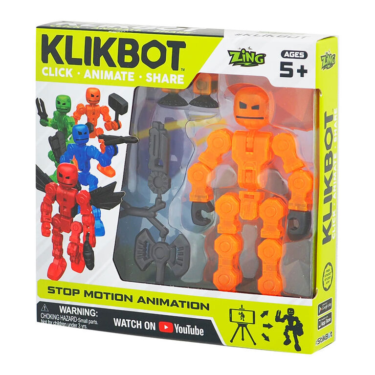 Klikbot - Click - Animate Share  - Cannon
