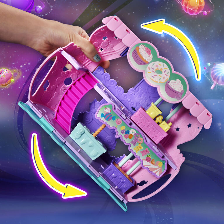 Hatchimals CollEGGtibles, Cosmic Candy Shop 2-in-1 Playset with Exclusive Pixie and Hatchimal