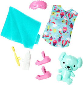 Barbie Club Chelsea Bedtime Accessory Pack.