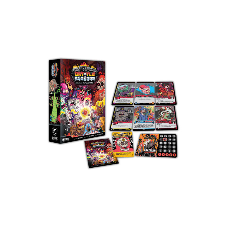 Epic Spell Wars of the Battle Wizards: Duel at Mt Skullzfyre Game