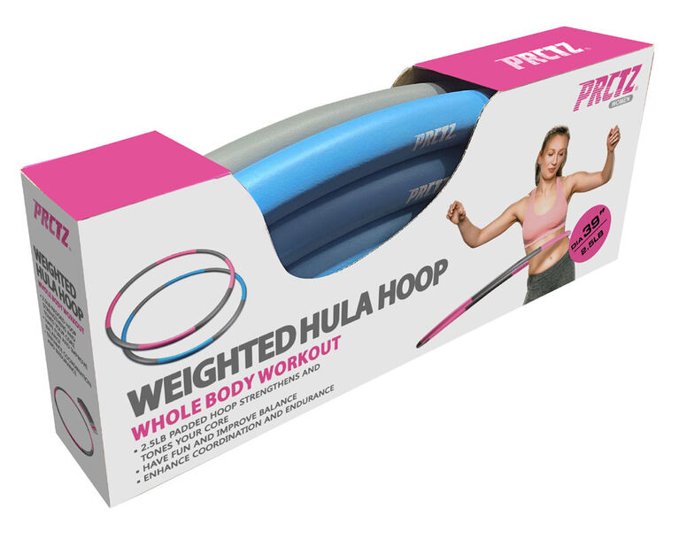 PRCTZ - Weighted Hula Hoop - English Edition