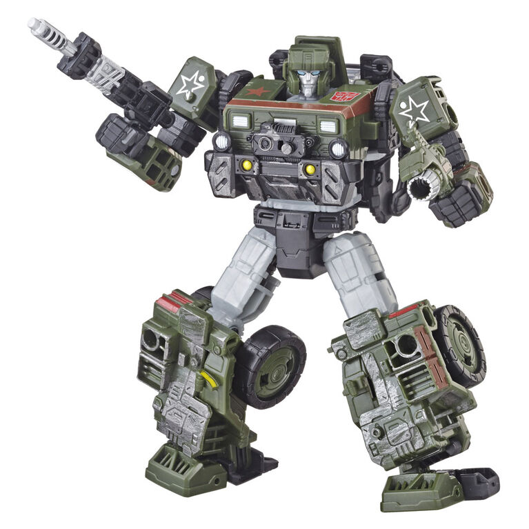 Hasbro Transformers Generations War for Cybertron: Siege Deluxe Class Autobot Hound Action Figure