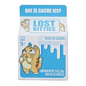 Lost Kitties Boîte surprise - Édition française - Les couleurs et les motifs peuvent varier.