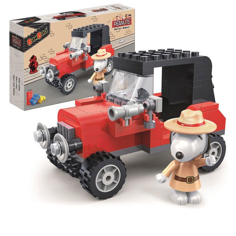 BanBao Peanuts - Secret Agent Car