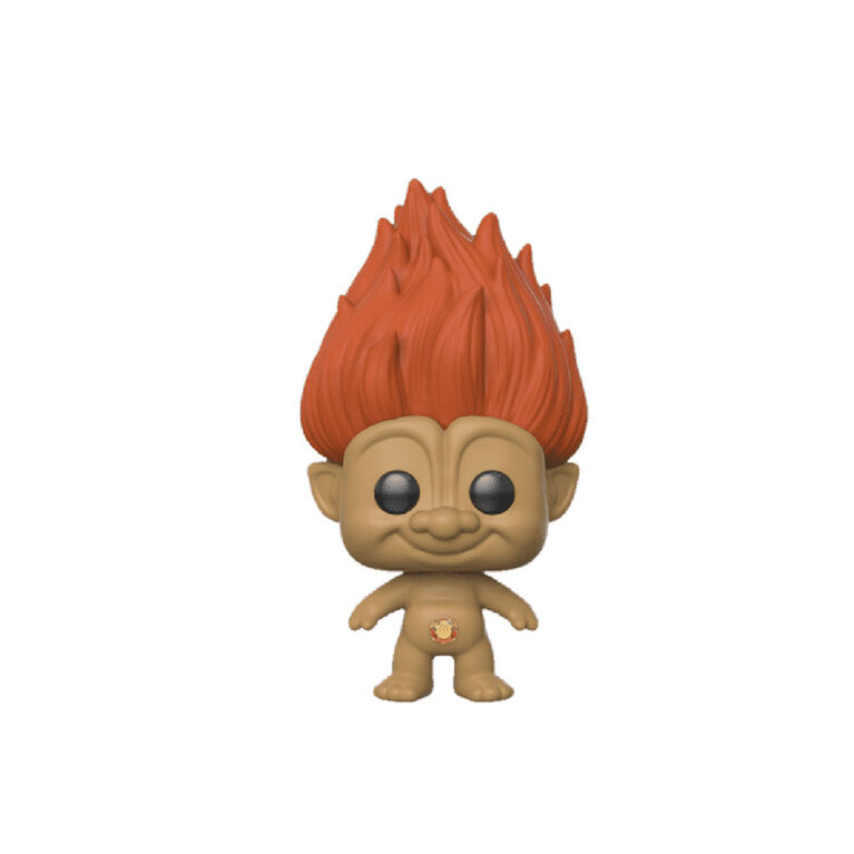 Figurine en Vinyle Orange Troll Par Funko POP! Trolls