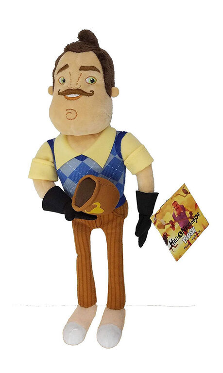 Hello Neighbor Plush with Coffee Mug