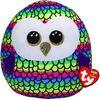 Ty Squish Owen Rainbow Owl 14 inch