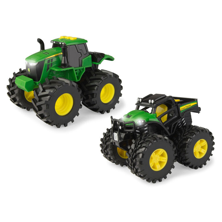 "John Deere 6"" Light N Sounds Vehicle 2 Pack"