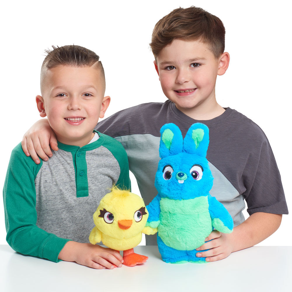 "Toy story 4 Ducky Bunny parfumée amitié 11/"" Plush New"