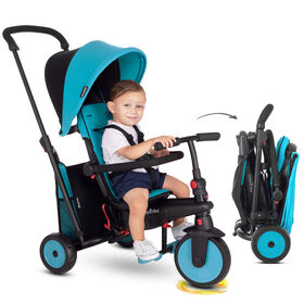 smarTrike STR3 - 6 Stage Folding Stroller Certified Trike - Blue