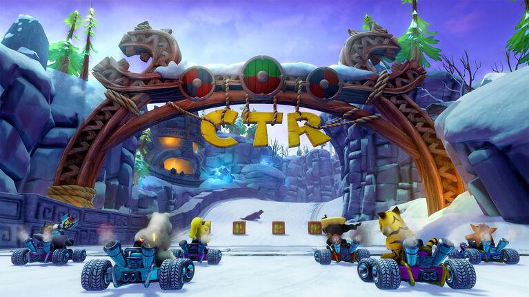 PlayStation 4 Crash Team Racing Nitro Fueled