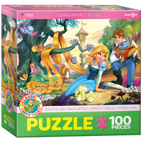 Eurographics Beautiful Hair 100 Piece Puzzle