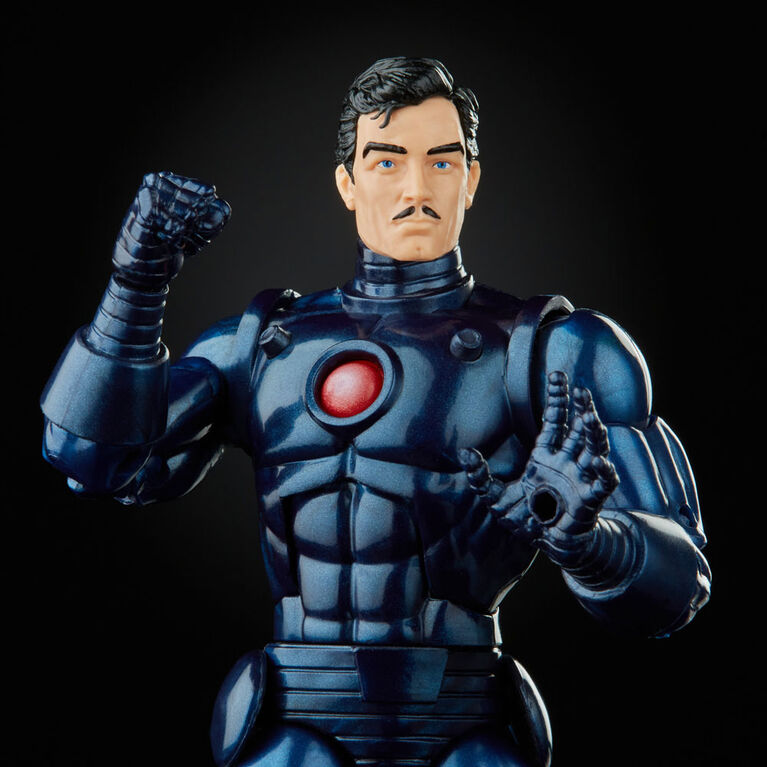 Hasbro Marvel Legends Series Stealth Iron Man Action Figure Toy, Includes 5 Accessories and 1 Build-A-Figure Part