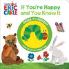 1 Button Squishy Book Eric Carle - English Edition