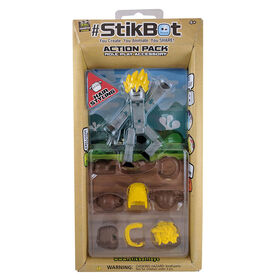 Stikbot Action Pack - Coiffures.
